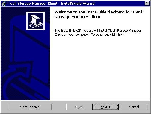 Installing TSM for Windows NT/2000/XP