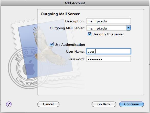 OutgoingMailServer