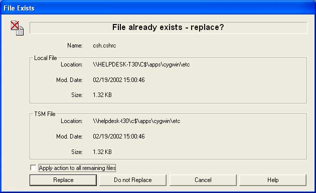 file exist window