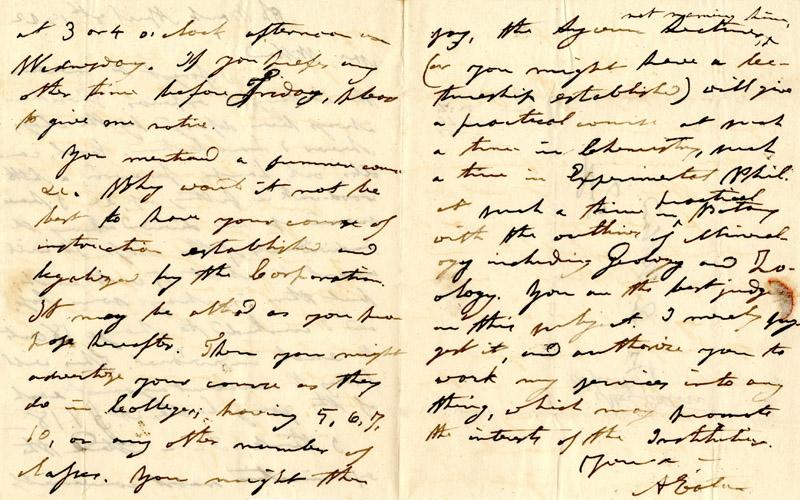 Letters To Mrs Emma Willard