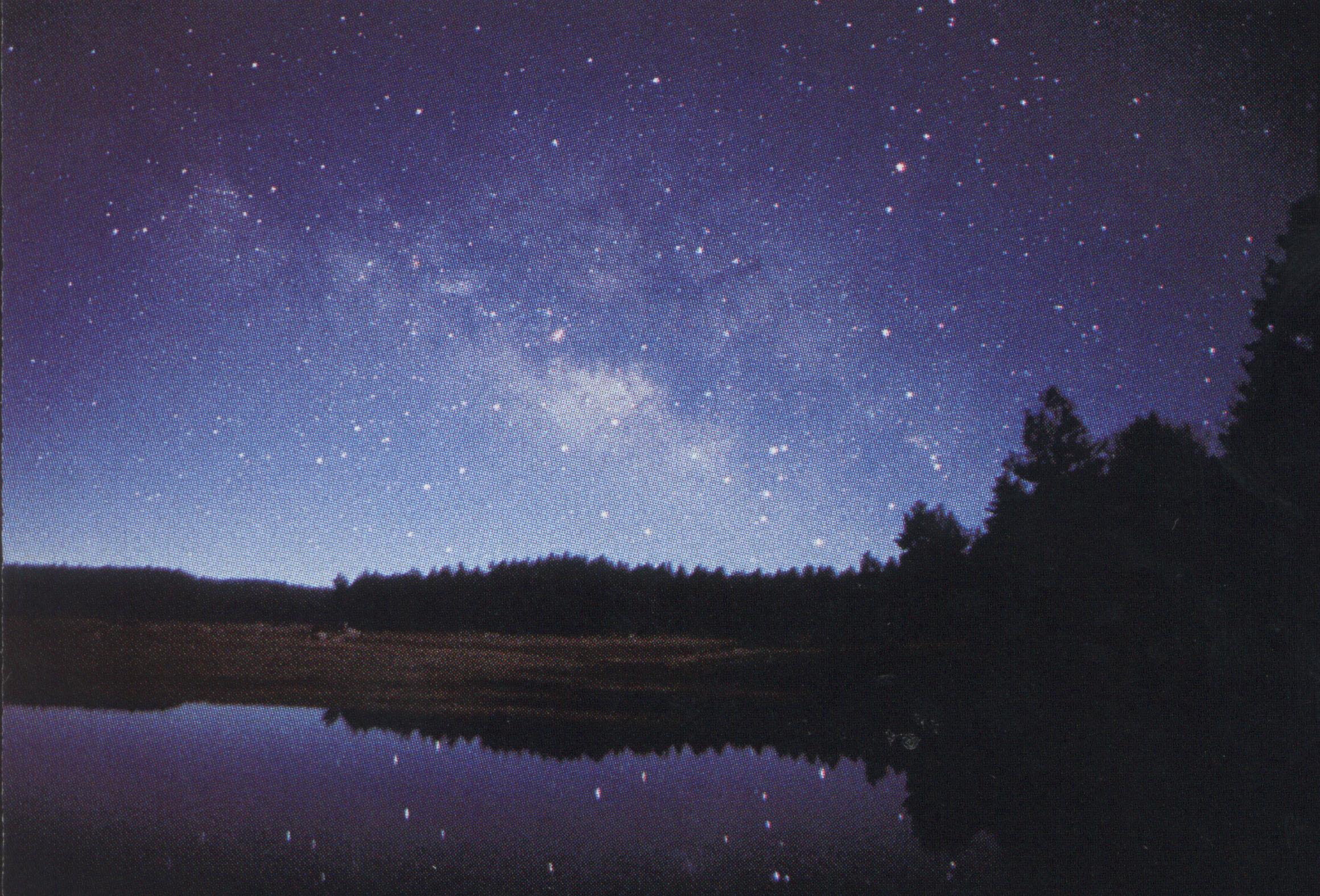 закат ночь фото